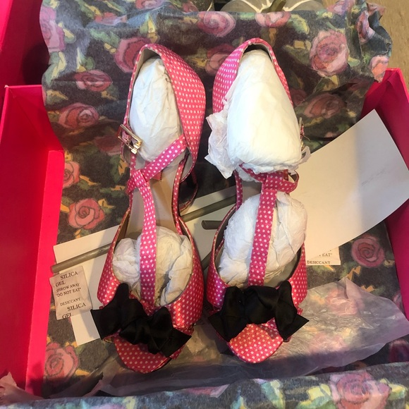 Betsey Johnson Shoes - Betsey Johnson Canddee heels in pink